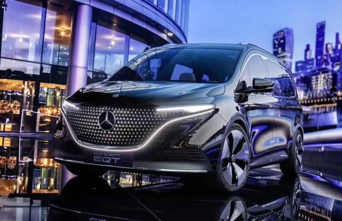 Mercedes Concept EQT van