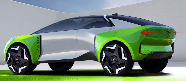 Opel ηλεκτρική Manta-e