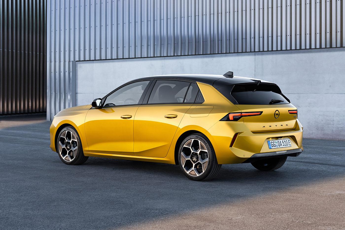 Νέο Opel Astra: νέα γενιά - για πρώτη φορά και plug-in υβριδικό