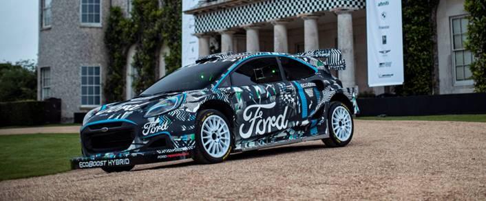 νέο υβριδικό Puma Rally1 WRC Prototype